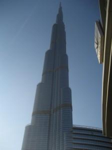 ドバイの世界一の高層ビル「ブルジュ・ハリファ」