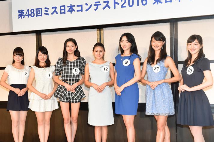 「ミス日本2016」ファイナリスト7名の水着姿を公開!