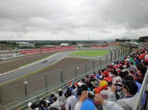 F1日本グランプリ開幕の鈴鹿サー...