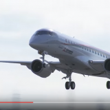 The First Sortie of 1st MRJ Flight Test Aircraft YouTube