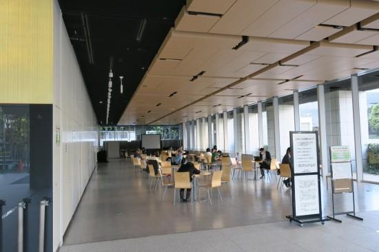 千代田区役所フリースペース