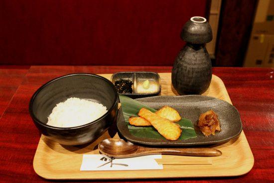 さけ茶漬け(1200円)