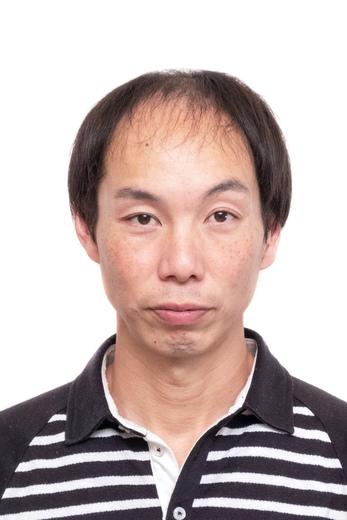 薄毛の髪型