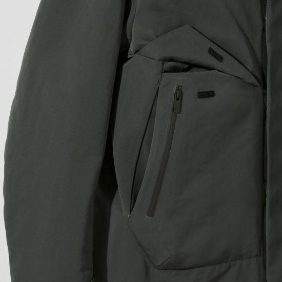 ジャケット ハイブリッド ダウン オーバー サイズ